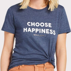 Spiritual Gangster Choose Happiness Destructed Tee